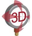 3D 360 Icon
